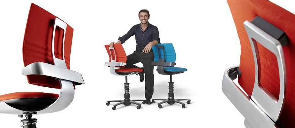 Si ge de bureau ergonomique 3dee entrez dans la for S asseoir sans chaise