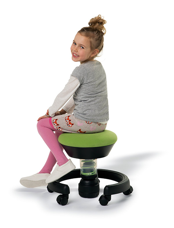 Tabouret De Bureau Enfant Swoppster Ideal Pour Proteger Le Dos