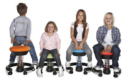 Swopster : chaise ergonomique pour enfant